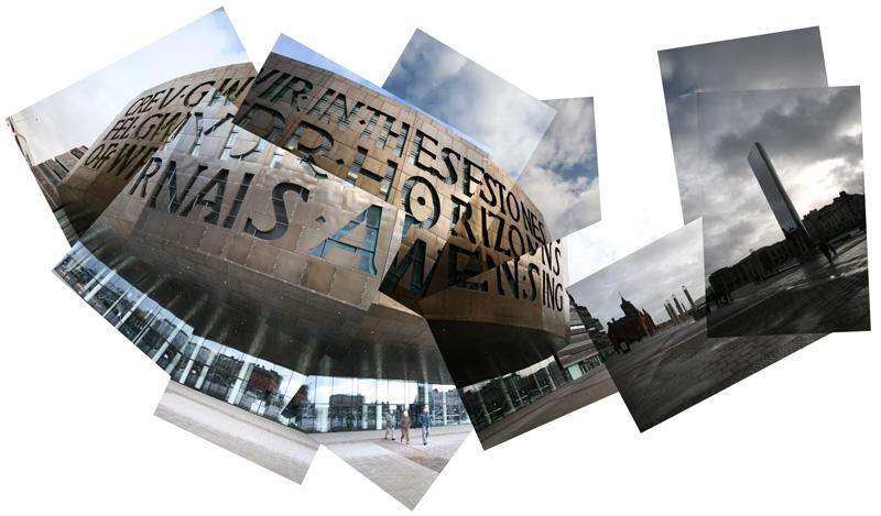 Www Davep Org Photographs 187 Millennium Centre Montage